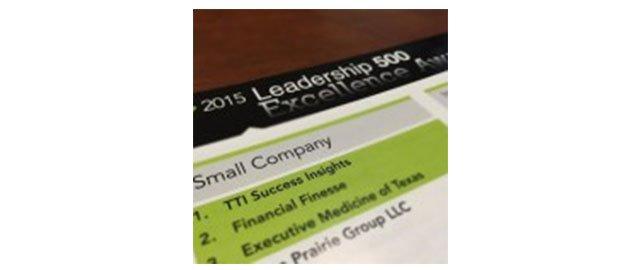 TTI Success Insights HR.com Tarafından Düzenlenen Prestijli Leadership 500 Ödülünü Kazandı!